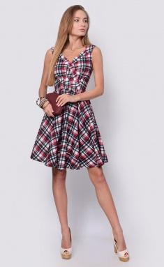 Dress La Café by PC F14593-7 bel,chern,malin