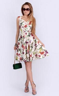 Dress La Café by PC F14593-7 mol,bord