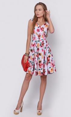 Dress La Café by PC F14593-7 zheltyj,vin,bel
