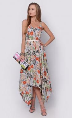 Dress La Café by PC NY14635 mol,oranzh