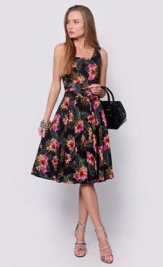 Dress La Café by PC NY14652 lososevyj,chern,zheltyj