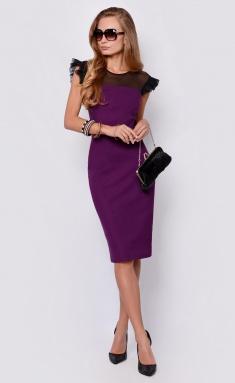 Dress La Café by PC NY14761 fiol/chern