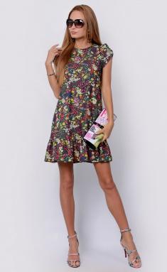 Dress La Café by PC NY14810 dzhins,zheltyj,bel