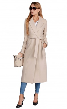 Coat La Café by PC NY14825 bezh,korichn