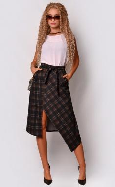 Skirt La Café by PC NY14971 chern,bezh