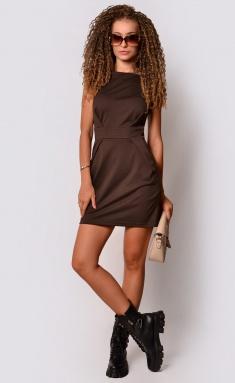 Dress La Café by PC NY15110 korichn