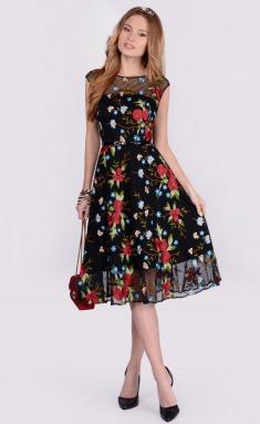 Dress La Café by PC NY1566 chern,bord