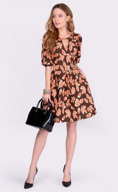 Dress La Café by PC NY1660 korichn,ryzh