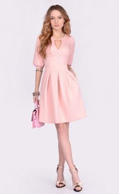 Dress La Café by PC NY1660 persikovyj