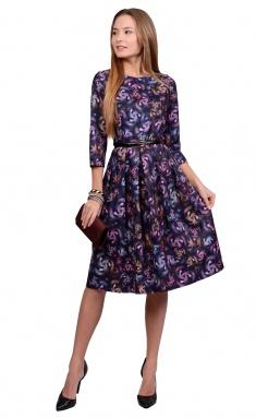Dress La Café by PC NY1692 fiol,roz