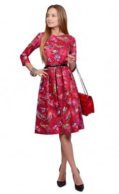 Dress La Café by PC NY1692 fuksiya,zheltyj