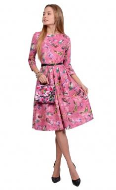 Dress La Café by PC NY1692 roz,zel