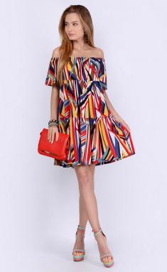 Dress La Café by PC NY1814 ser,zheltyj,kr
