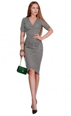 Dress La Café by PC NY1823 chern,salatovyj