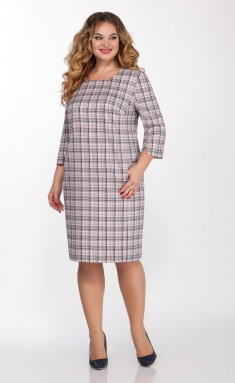 Dress LaKona Pl24 sin/rozovoj pudr