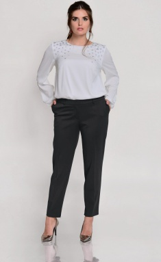 Trousers Roma Moda M202 chern