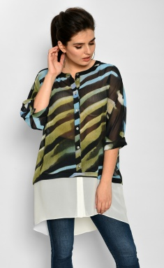 Tunic Faufilure Outlet S831 chern/gol
