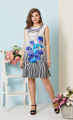 Dress Olga Style S532 gol