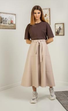 Skirt Samnari T37A bezh