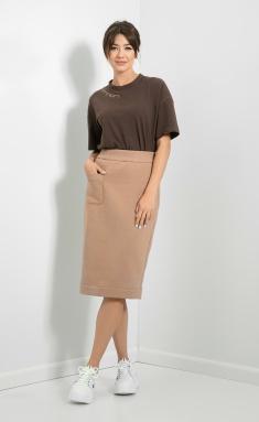 Skirt Samnari T84 bezh