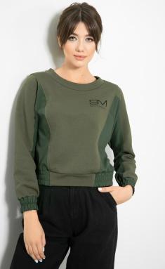 Sweatshirt Samnari T87 xaki