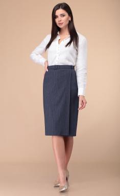 Skirt Linia L Yu-23 sin / pol