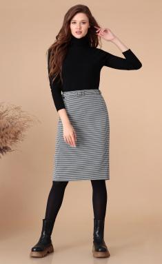 Skirt Linia L Yu-25 chern / bel