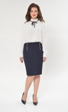 Skirt Sale M314 temno-sin