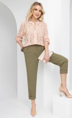 Trousers, overalls, shorts Sale Na defile (xaki)