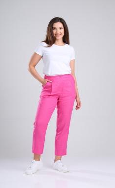 Trousers MALI 321-002 fuksiya