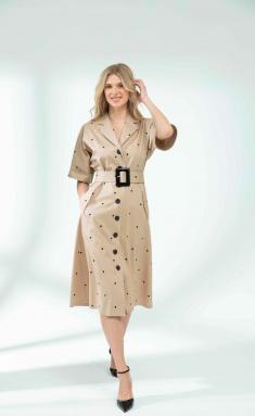 Dress Sale DR-1142 bezh