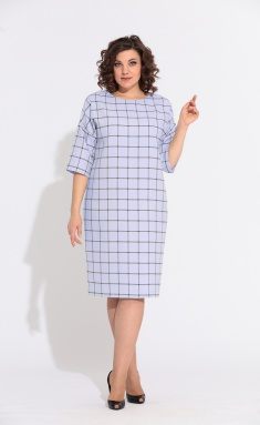 Dress Anastasia 597 lav