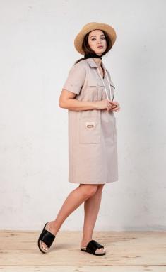 Dress Angelina Design Studio 0662 pudra