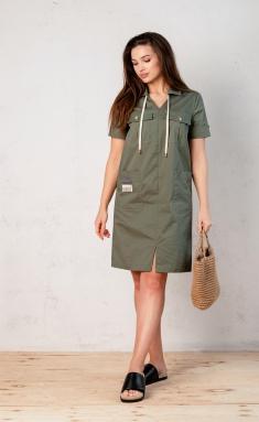 Dress Angelina Design Studio 0662 xaki