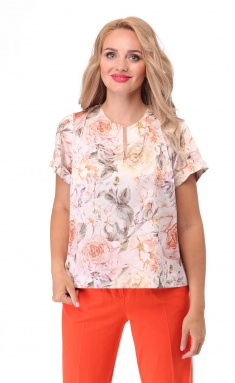 Blouse BelElStyle 835 korall