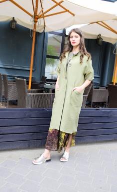 Coat Amori 2082 oliv 170