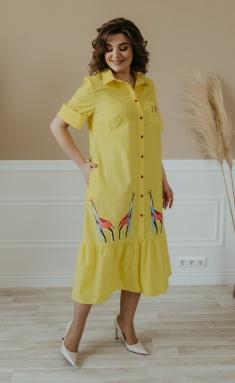 Dress Olga Style S678 zhelt