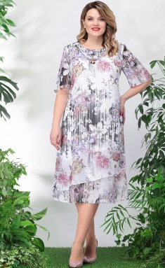 Dress LeNata 11746 sirenevye cv