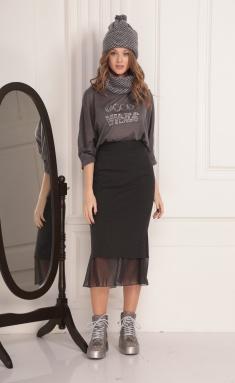 Sweatshirt Amori 6188 grafit 170