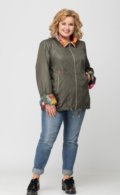 Jacket Trikotex-Style 1547 xaki