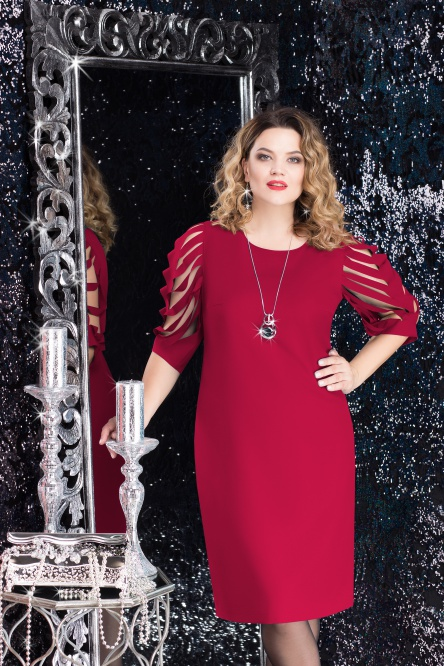 Dress LeNata #11721 bord