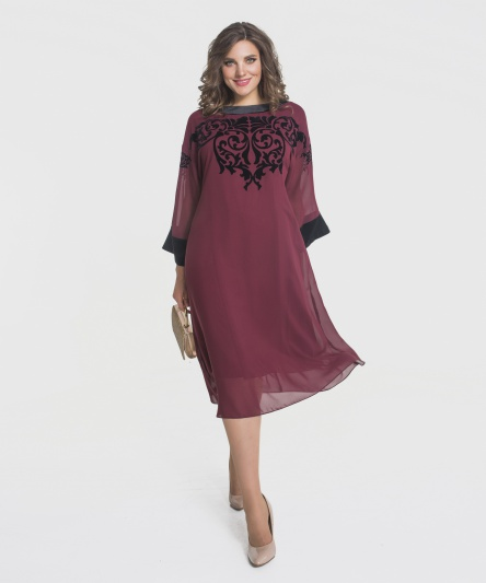 Dress Elletto #1663 bord