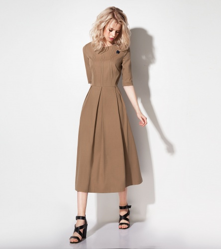 Dress Prio #197580 bezh