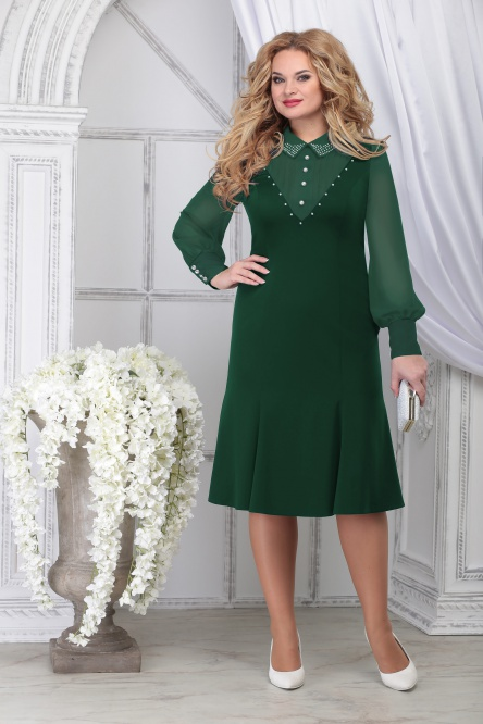 Dress Ninele #2280 izumr