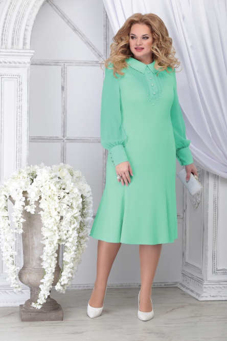 Dress Ninele #2280 svetlo-zel