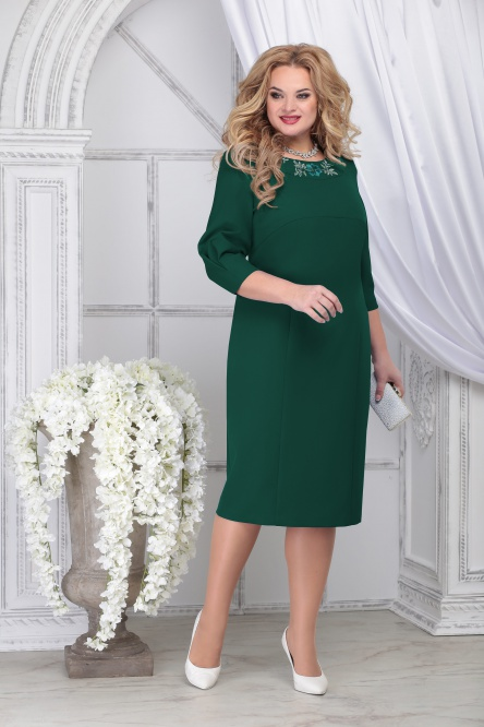 Dress Ninele #7309 izumr