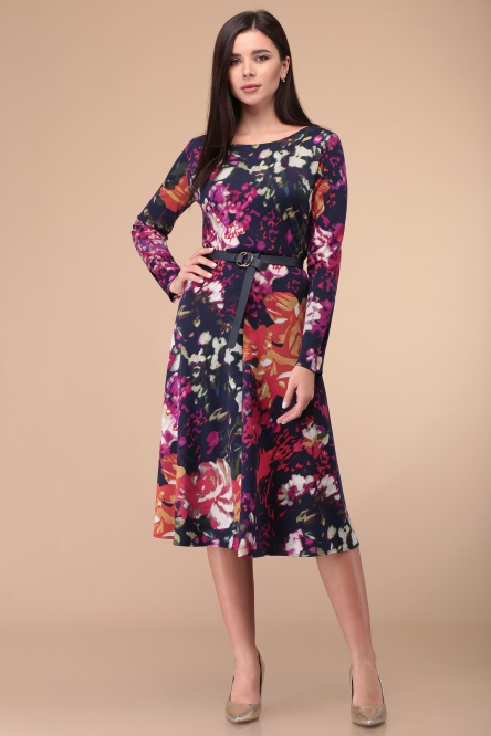 Dress Linia L #B-1854 multikolor