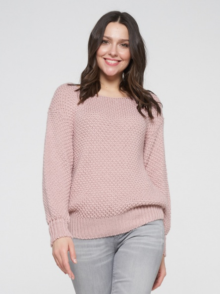 Jumper Newvay #BY202-40051 pudra